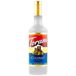 Torani Coconut Syrup, 750 mL