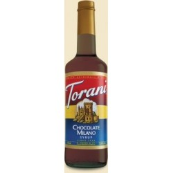 Torani Chocolate Milano Syrup, 750 ml