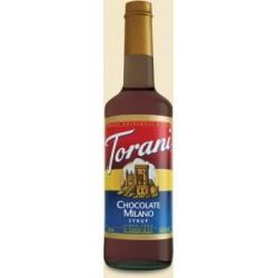 Torani Chocolate Milano Syrup, 750 ml