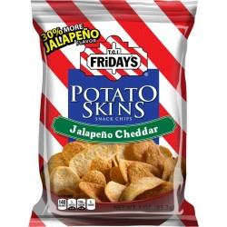 TGI Fridays Jalapeno Cheddar Potato Skin - 4.5 oz. bag, 6 per case