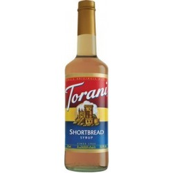 Torani Shortbread Syrup, 750 mL