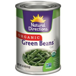 Organic Green Beans by Natural Directiobs