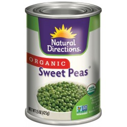 Organic Sweet Peas by Natural Direction
