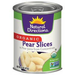 Organic Pear Slices By Natural Directions