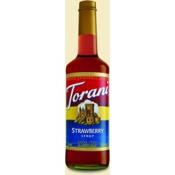 Torani Strawberry Syrup 750mL