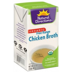 Organic Free Range Chicken Broth By Natural Direction