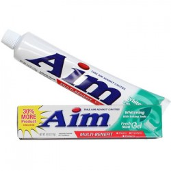 Aim Whitening Toothpaste, 6 oz.
