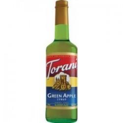 Torani Green Apple Syrup, 750 mL