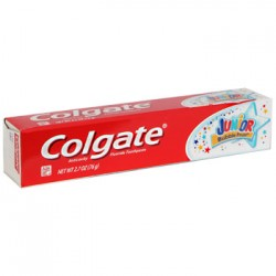 Colgate Junior Bubble Fruit Toothpaste, 2.7 oz.