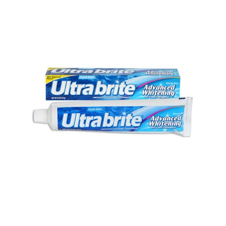 Ultra Brite Clean Mint Advanced Whitening Toothpaste, 6-oz. Tubes