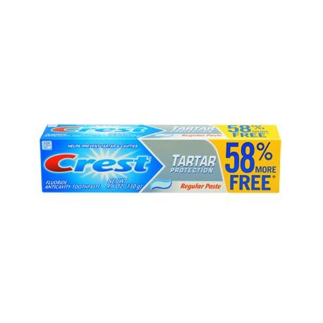 Crest Tartar Protection Toothpaste, 4.6-oz. Bonus Tubes