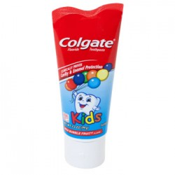 Colgate Kids Wild Bubble Fruit Toothpaste, 3.5-oz. Tubes