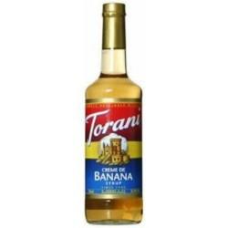 Torani Creme De Banana, 25.4-Ounce Bottles