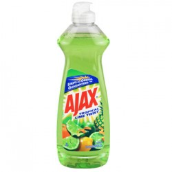 Ajax Lime Dish Liquid, 12.6-oz. Bottles