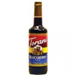 Torani Blackberry Syrup, 750 ml