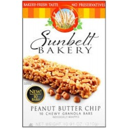 Sunbelt Bakery: Peanut Sweet & Salty Chewy Granola Bars 10 Ct. (3 Boxes)