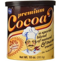 Saco Premium Baking Cocoa, 10 Oz Can (Pack of 3)