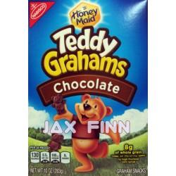Honey Maid Teddy Grahams Chocolate 10 Oz (Pack of 2)