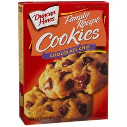 Duncan Hines Cookie Mix, Chocolate Chip, 9 Ounce (Pack of 3)