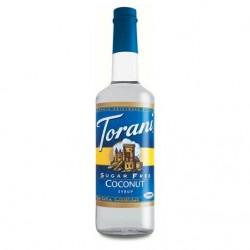 Torani Sugar Free Coconut Syrup (1 Single 750 ml bottle)