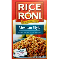 Rice-A-Roni MEXICAN STYLE Flavor 6.4 Oz. - 6 Pk