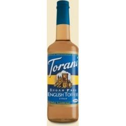 Torani® Sugar Free English Toffee Syrup
