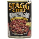 6 Cans of Stagg Classic Chili with Beans, 15-Ounce