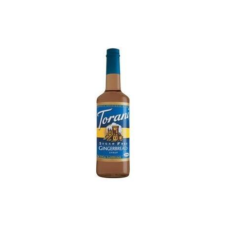 Torani Sugar Free Gingerbread Syrup 750mL