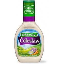 2 Bottles of Hidden Valley Ranch, Coleslaw Dressing, 16 Ounce