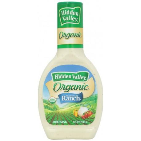 2 Bottles of Hidden Valley Original Ranch Dressing - Organic - 16 Ounce