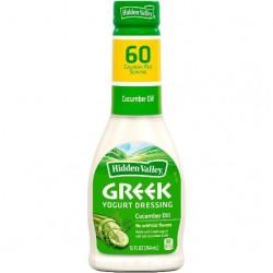 2 Bottles of Hidden Valley Greek Yogurt Dressing Cucumber Dill 12 Ounce