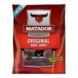 3 Bags of Matador Original Beef Jerky, 3 Oz Each