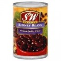 6 Cans of S&W, Red Kidney Beans, 15.25 Ounce