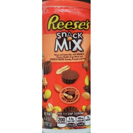 Pack of 3 Reese's Snack Mix, 6.8 Ounce
