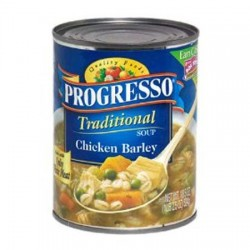 2 Cans Progresso Traditional Soup - Chicken Barley - 18.5 Ounce