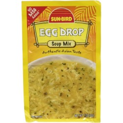 3 Packs of Sun-Bird EGG DROP Asian Soup Mix 1 Ounce