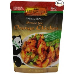 3 Pack of Lee Kum Kee Sauce for Orange Chicken, 8-Ounce Pouches