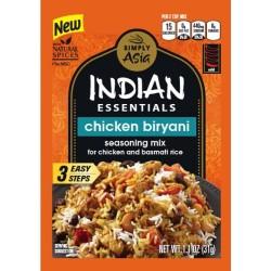 3 Packs of Indian Essentials Seasoning Mix, Chicken Biryani, 1.10 Ounce