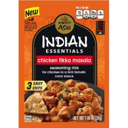 3 Packs of Indian Essentials Seasoning Mix, Tikka Masala, 1.06 Ounce