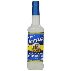 Torani Sugar Free Peppermint Syrup, 750 ml