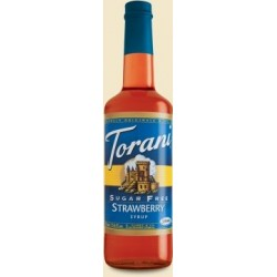 Torani® Strawberry Syrup Sugar Free