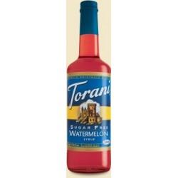 Torani Sugar Free Watermelon Syrup, 750 ml