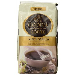 Godiva Coffee, French Vanilla, 12-Ounce
