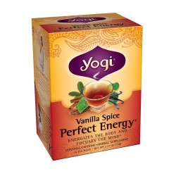 Yogi Vanilla Spice Perfect Energy Tea, 16 Tea Bags