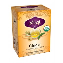Yogi Ginger Tea, 16 Tea Bags