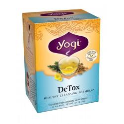 Yogi DeTox Tea, 16 Tea Bags (Pack of 6)