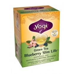 Yogi Blueberry Slim Life Green Tea, 16 Tea Bags