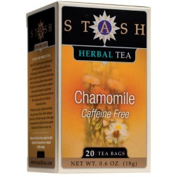 Stash Tea Chamomile Herbal Tea, 20 Count Tea Bags in Foil