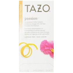 Tazo Passion Filter Bag Tea, 24-Count Packages
