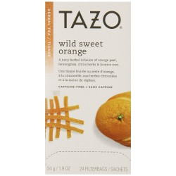 Tazo Wild Sweet Orange Filter Bag Tea, 24-Count Packages